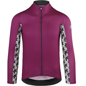 assos Mille GT Summer LS Jersey Herren midnight purple